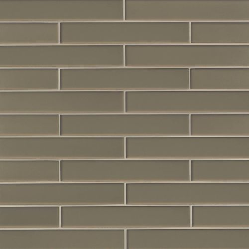 "Verve 2"" x 11.75"" Wall Tile in Golden Glimmer"