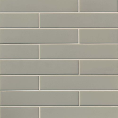 "Verve 3"" x 15.75"" Wall Tile in Tinsel Grey"