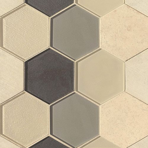 "Verve 4-7/8"" x 5-5/8"" Wall Mosaic in Valiant"