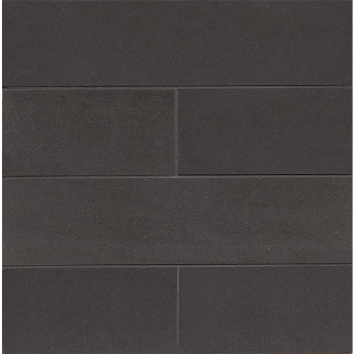 "Absolute Black 3"" x 12"" Floor & Wall Tile"