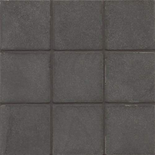 "Absolute Black 4"" x 4"" Floor & Wall Tile"