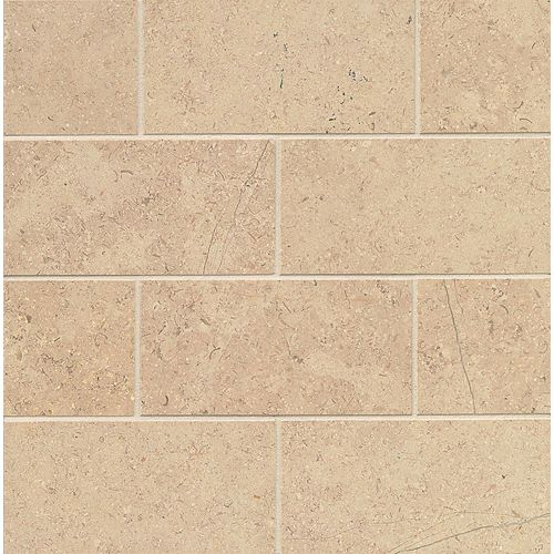 "Burlap 3"" x 6"" Floor & Wall Tile"