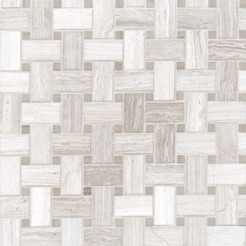 Ashen Grey Floor & Wall Mosaic