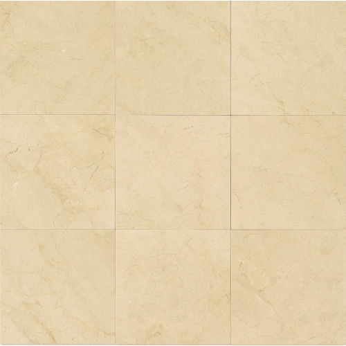"Crema Marfil Select 18"" x 18"" Floor & Wall Tile"