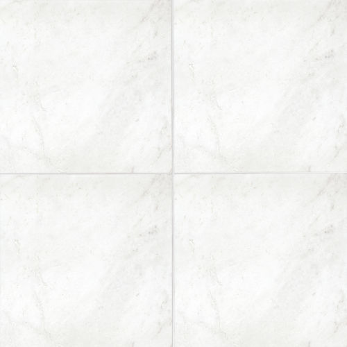 "Glorious White 18"" x 18"" Floor & Wall Tile"