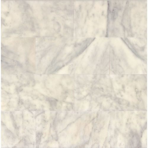 "Lydia White 12"" x 24"" Floor & Wall Tile"