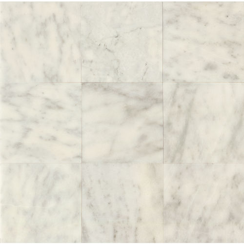 "Lydia White 18"" x 18"" Floor & Wall Tile"
