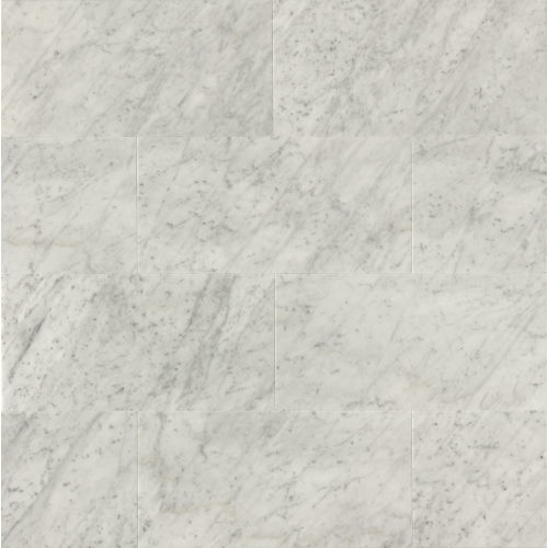 "White Carrara 18"" x 36"" Floor & Wall Tile"