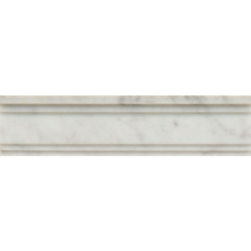 "White Carrara 3"" x 12"" Trim"