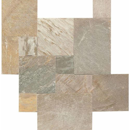 "Amber Gold 3/8"" Floor and Wall Tile"