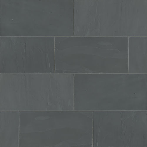 "Andhra Black 12"" x 24"" Floor & Wall Tile"