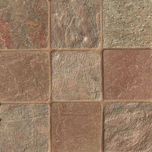 "Copper 4"" x 4"" Floor & Wall Tile"