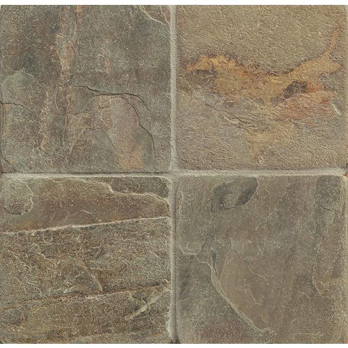 "Rajah Multicolor 6"" x 6"" Floor & Wall Tile"