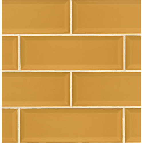 "Adamas 4"" x 12"" Wall Tile in Flavus"