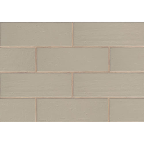 "Aura 4"" x 12"" x 3/8"" Wall Tile in Breeze"