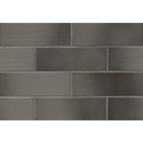 "Aura 4"" x 12"" x 3/8"" Wall Tile in Slate"