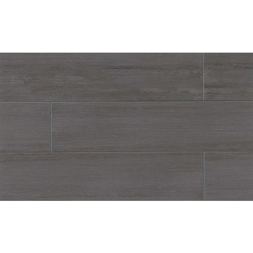"City 2.0 24"" x 48"" Floor & Wall Tile in Asphalt"