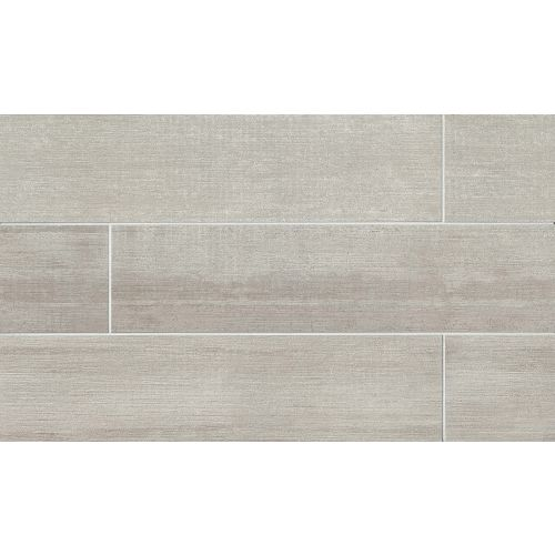"City 2.0 24"" x 48"" Floor & Wall Tile in Cement"