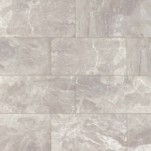 "Classic 12"" x 24"" x 3/8"" Floor and Wall Tile in Bardiglietto"