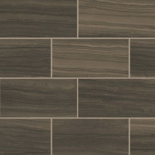 "Highland 12"" x 24"" Floor & Wall Tile in Cocoa"