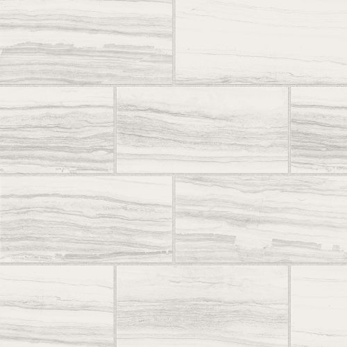 "Highland 12"" x 24"" Floor & Wall Tile in White"