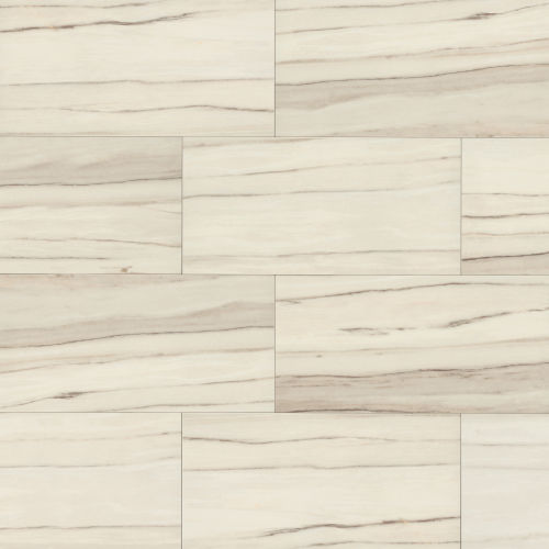 "Zebrino 24"" x 48"" Floor & Wall Tile in Calacatta"