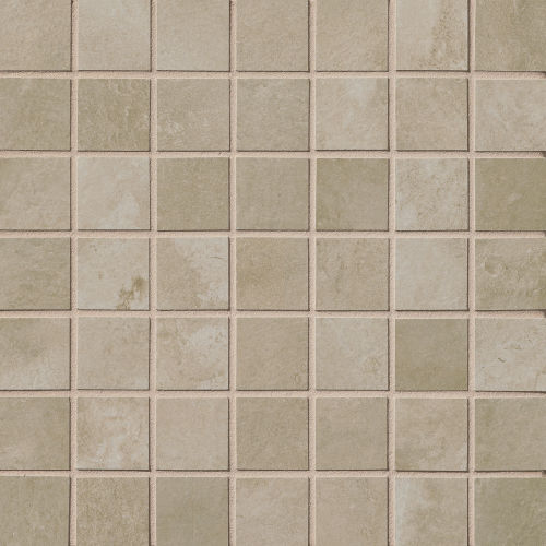 "Cemento 1-1/2"" x 1-1/2"" Floor & Wall Mosaic in Baler"