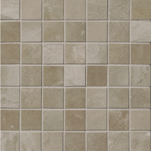 "Cemento 1-1/2"" x 1-1/2"" Floor & Wall Mosaic in Titan"