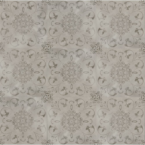 "Cemento 24"" x 24"" Decorative Tile in Classico"