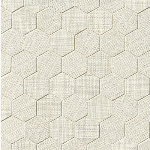 "Dagny 2"" x 2"" Floor & Wall Mosaic in White"
