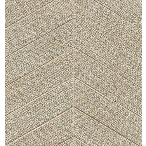 "Dagny 2"" x 6"" Floor & Wall Mosaic in Taupe"