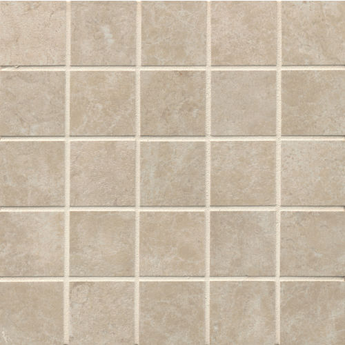 "Indiana Stone 2"" x 2"" Floor and Wall Mosaic in Almond"
