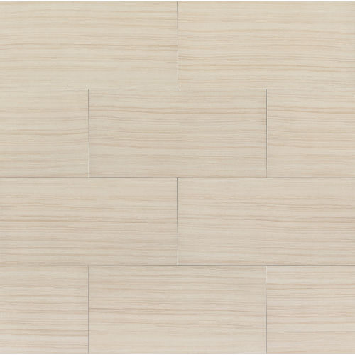 "Infinity 12"" x 24"" x 3/8"" Floor and Wall Tile in Luna"
