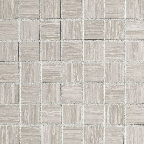 "Islands 1-1/2"" x 1-1/2"" Floor & Wall Mosaic in Silver"