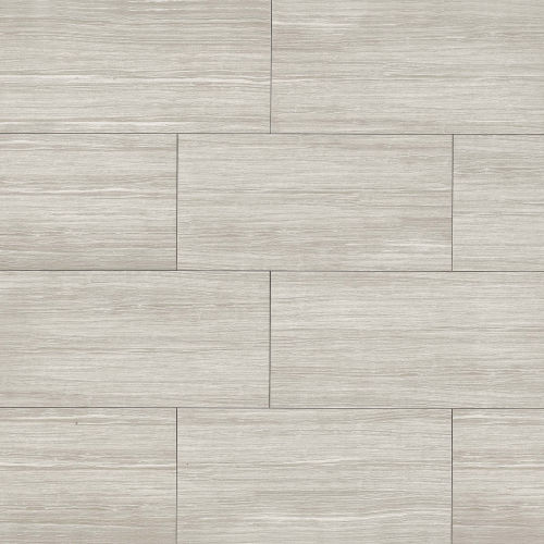 "Islands 12"" x 24"" Floor & Wall Tile in Silver"