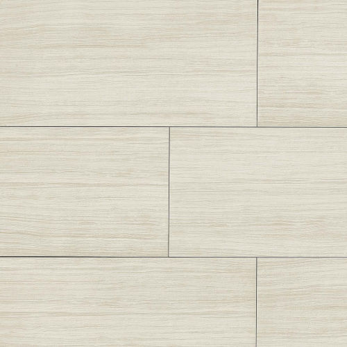 "Islands 18"" x 36"" x 3/8"" Floor and Wall Tile in White"