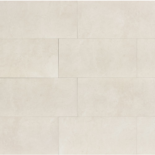 "Marfil 18"" x 36"" x 3/8"" Floor and Wall Tile in Alabaster"