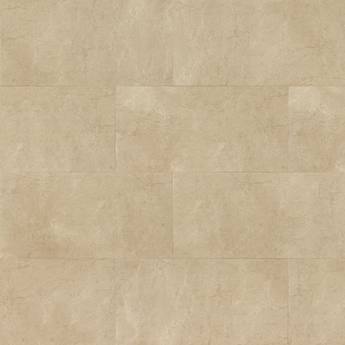 "Marfil 18"" x 36"" Floor & Wall Tile in Crema"