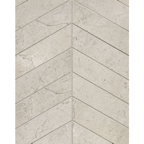 "Marfil 2"" x 2"" Floor & Wall Mosaic in Silver"