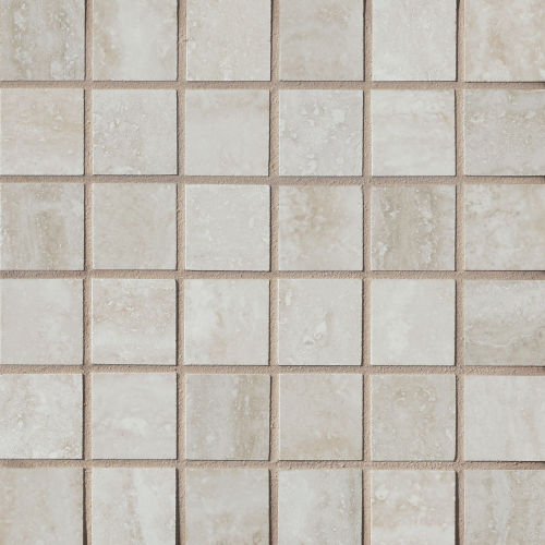 "Phoenix 1-9/16"" x 1-9/16"" Floor and Wall Mosaic in Silver"