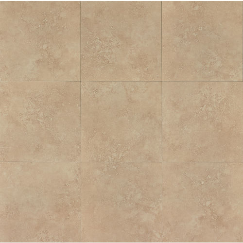 "Roma 20"" x 20"" x 3/8"" Floor and Wall Tile in Beige"