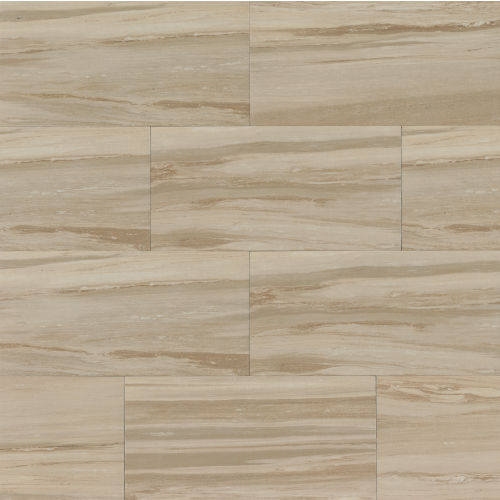 "Rose Wood 12"" x 24"" x 3/8"" Floor and Wall Tile in Camel"