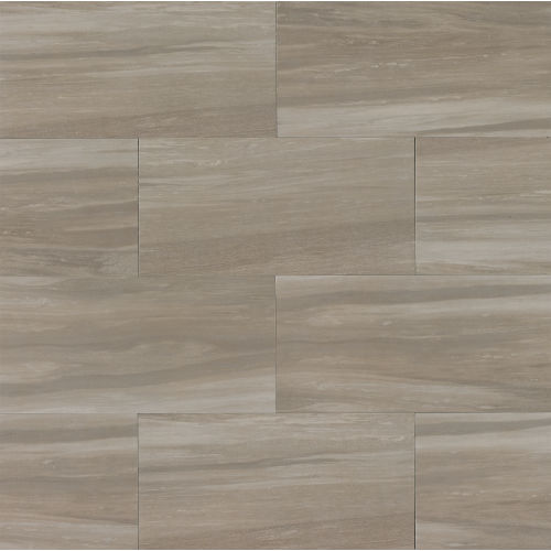"Rose Wood 12"" x 24"" x 3/8"" Floor and Wall Tile in Taupe"