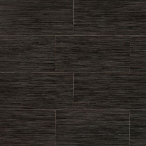 "Runway 12"" x 24"" Floor & Wall Tile in Ebony"