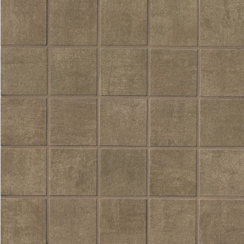 "Studio 2"" x 2"" Floor & Wall Mosaic in Cherry"