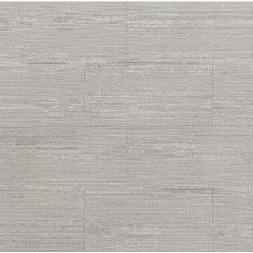 "Strands 12"" x 24"" x 7/16"" Floor and Wall Tile in Silver"