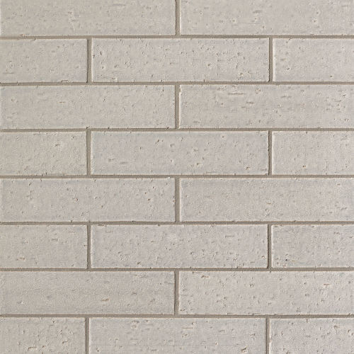 "Uptown 2.5"" x 9.5"" Floor & Wall Tile in Silver"
