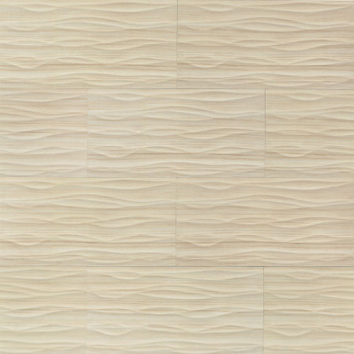 "Wave 12"" x 24"" x 3/8"" Wall Tile in Luna"