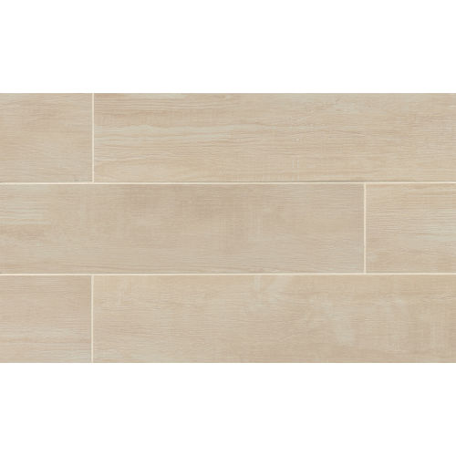 "Bayou Country 8"" x 24"" x 3/8"" Floor and Wall Tile in Blanc"