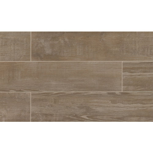 "Bayou Country 8"" x 36"" x 3/8"" Floor and Wall Tile in Taupe"